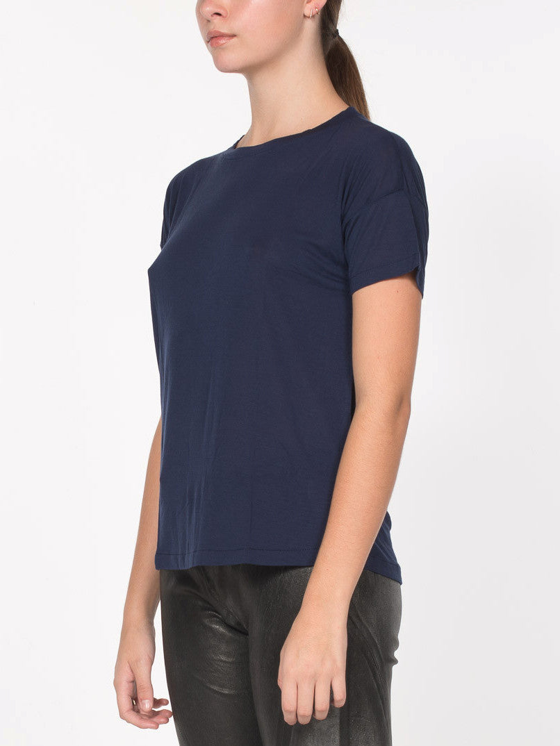 Cavil Relaxed Fit Tee / Navy, Women's, Clothing, Apparel - Drifter Industries