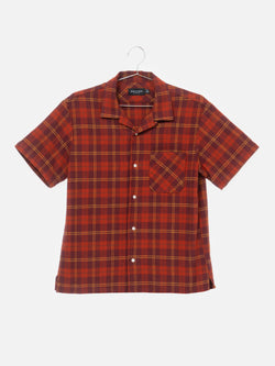 Fields Open Collar Shirts / Plaid