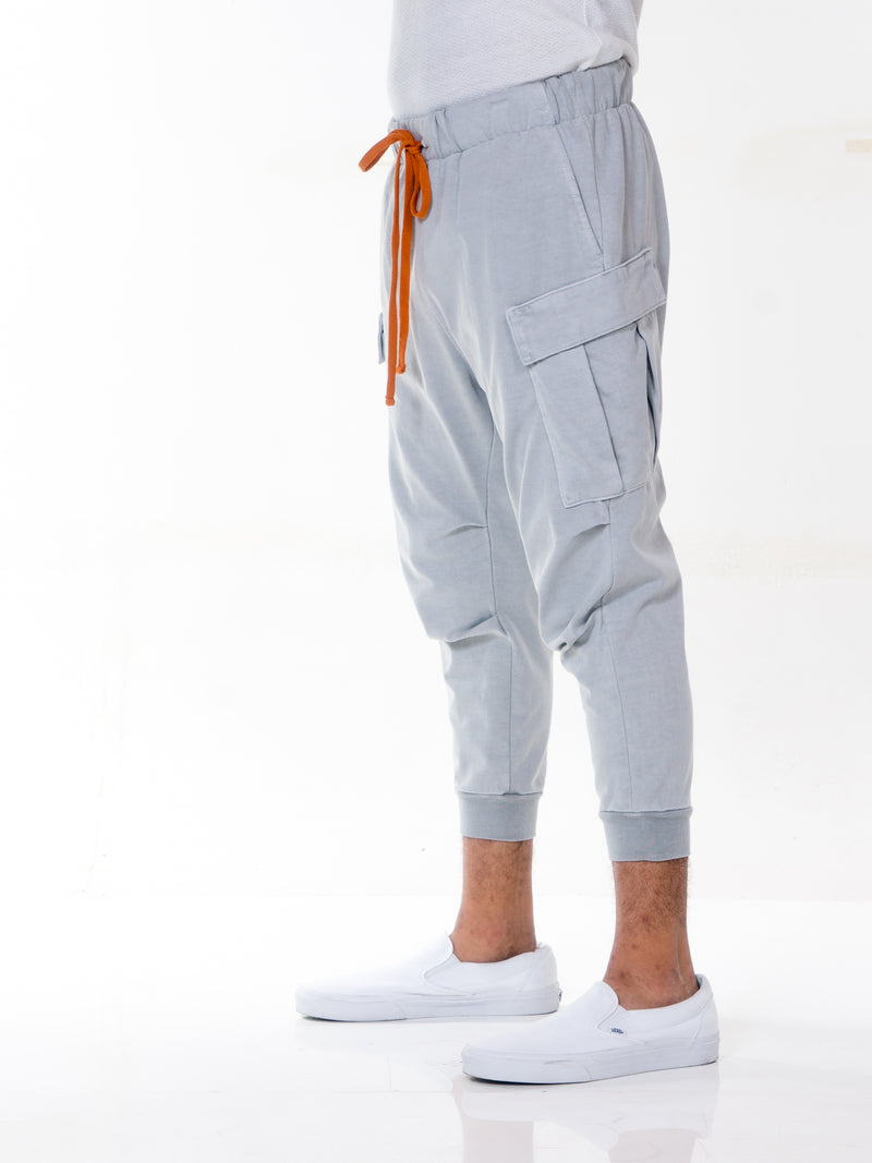 Geri Cropped Jogger Cargo Pants / Online Exclusive