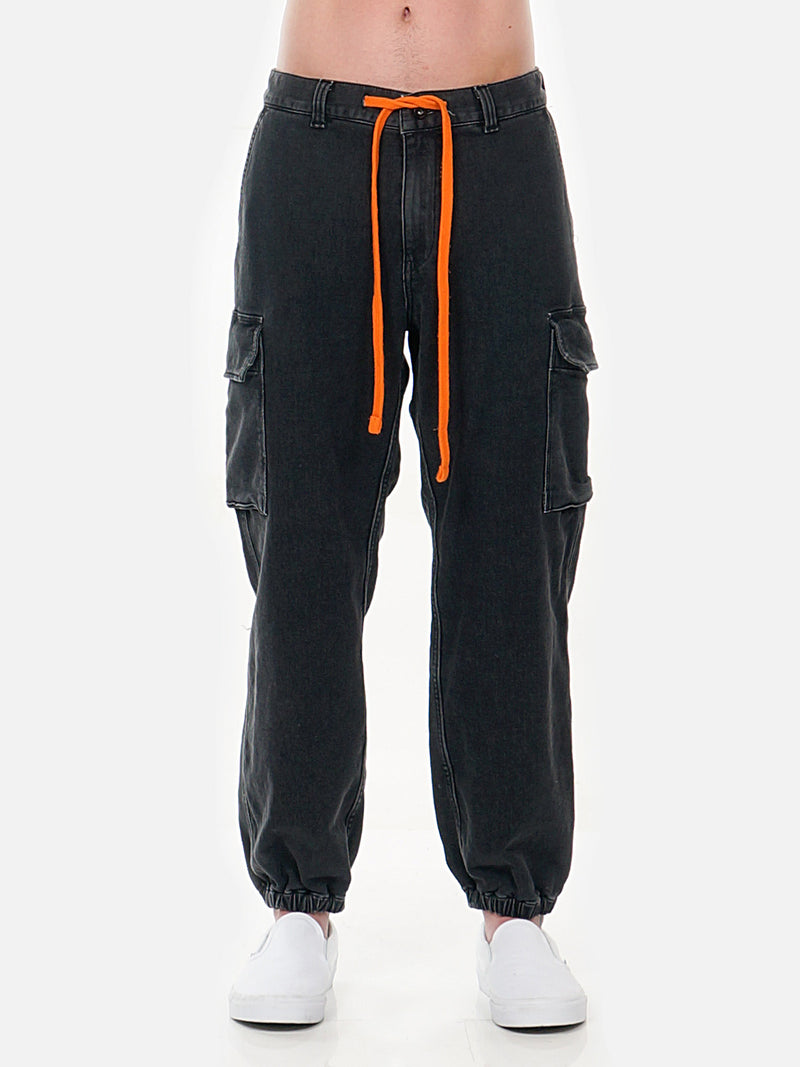 Gilliam Cargo Pant / Black, Men's, Clothing, Apparel - Drifter Industries