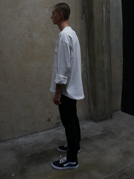 Rukuo Crew Neck Top / White