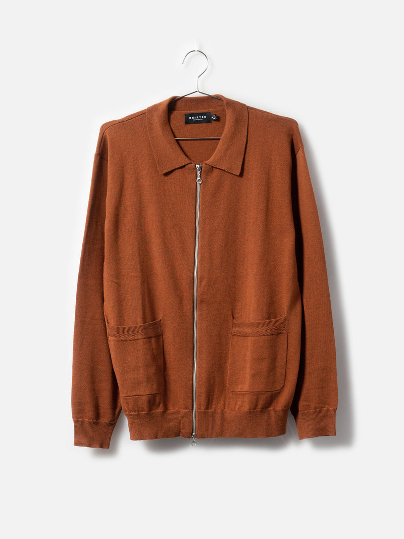 Tyrell Rust Cardigan, , Clothing, Apparel - Drifter Industries