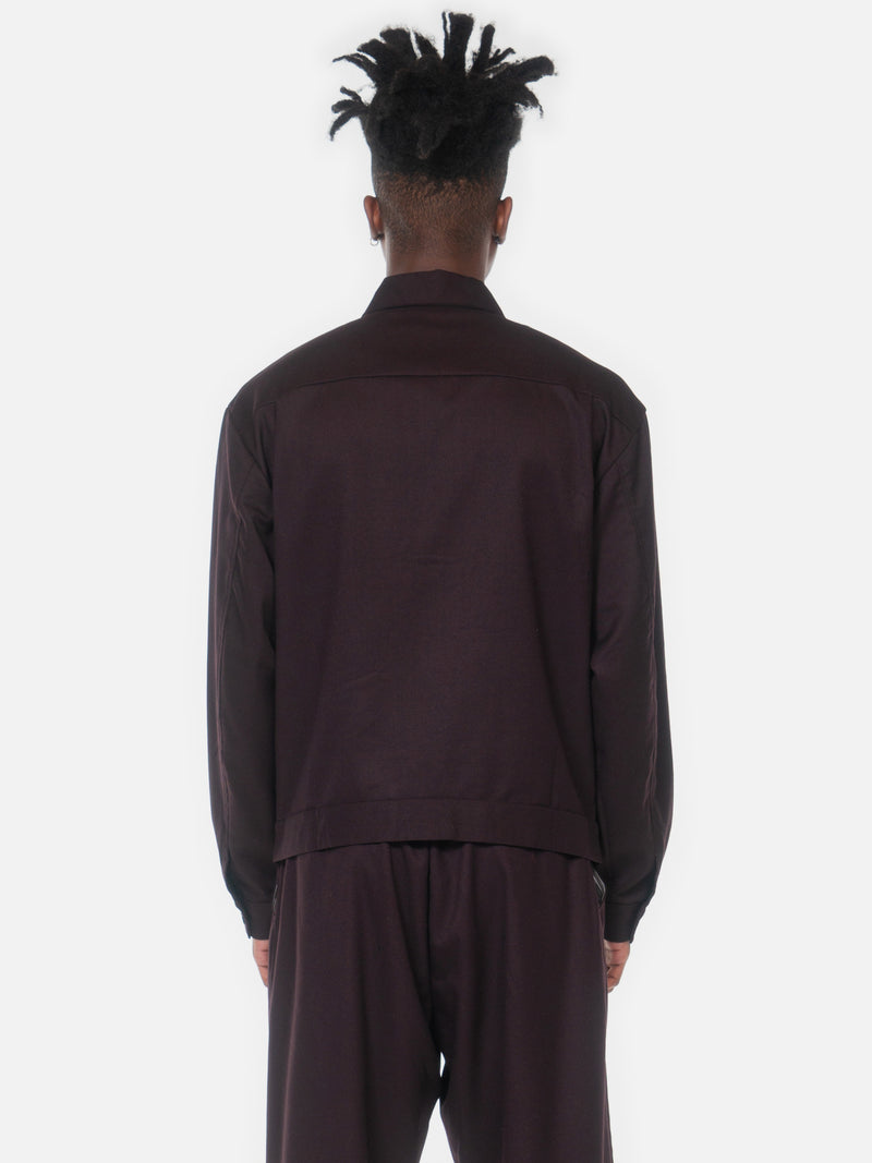 Pala Shirt Jacket / Maroon, , Clothing, Apparel - Drifter Industries
