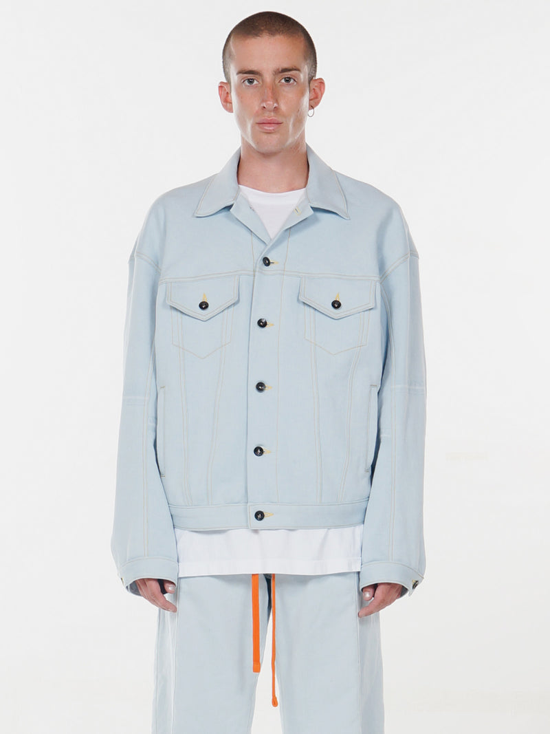 Raoul Oversized Trucker Jacket / Indigo, , Clothing, Apparel - Drifter Industries