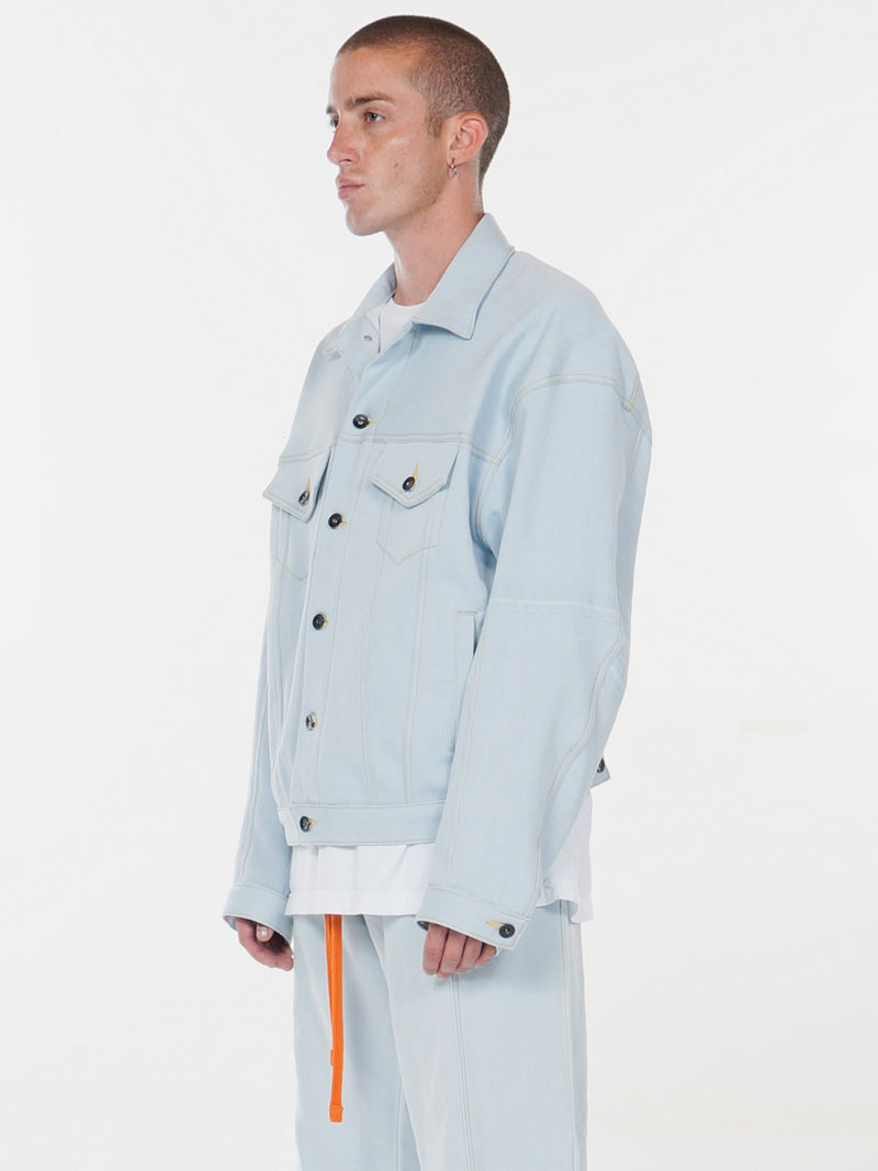 Raoul Oversized Trucker Jacket / Indigo