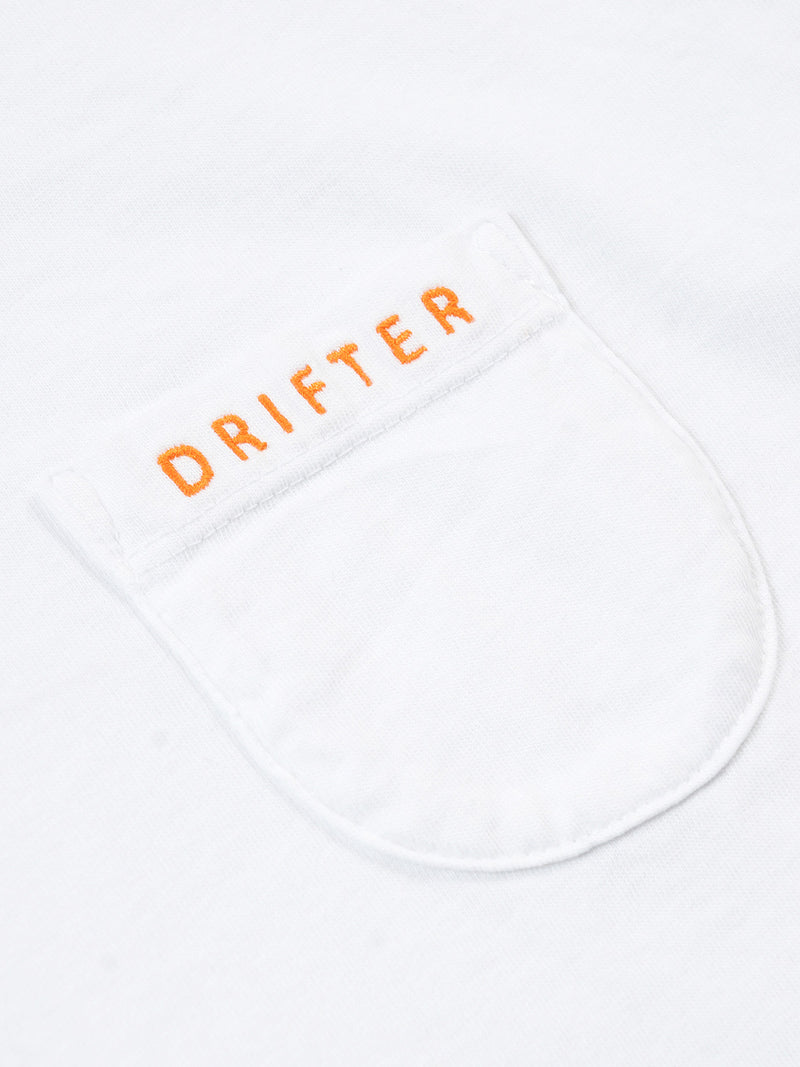 Peace Pocket Tee / White, , Clothing, Apparel - Drifter Industries