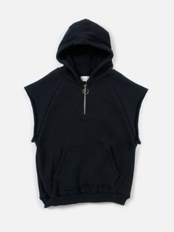 Warwick Half Zip Parka / Black, , Clothing, Apparel - Drifter Industries