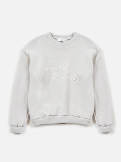 Love is the Drug Pullover / Ivory, Men's, Clothing, Apparel - Drifter Industries