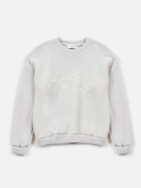 FW18 Love is the Drug Sweatshirt / Ivory