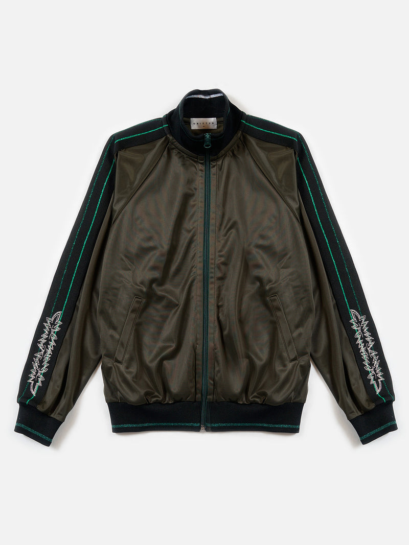 Commodore Track Jacket / Green, Men's, Clothing, Apparel - Drifter Industries