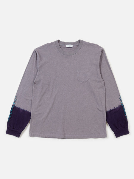 FW18 Kojak Dip-Dye Long Sleeve Tee / Purple