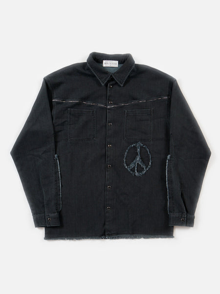 FW18 Hutch Black Indigo Shirt