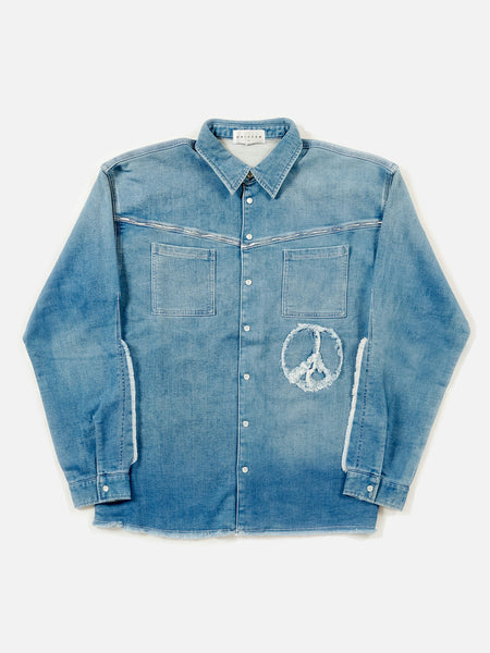 FW18 Hutch Indigo Shirt