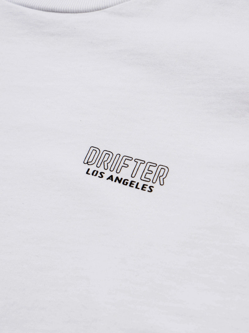 Broad LS Tee / White, , Clothing, Apparel - Drifter Industries
