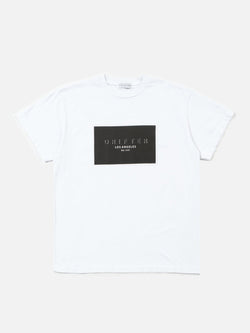 Square Tee / White, , Clothing, Apparel - Drifter Industries