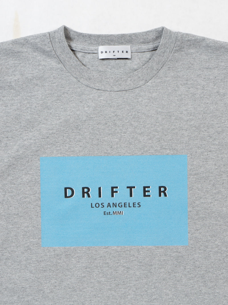 Square Tee / Heather Grey, , Clothing, Apparel - Drifter Industries
