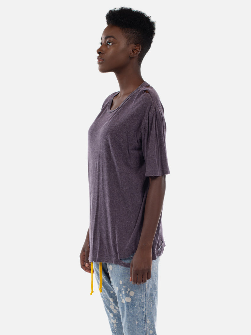 Zenni Short Sleeve Top / Blackberry, Women's, Clothing, Apparel - Drifter Industries