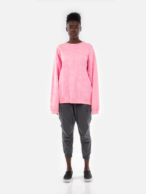 Yameyo Pullover / Pink Lava, Women's, Clothing, Apparel - Drifter Industries
