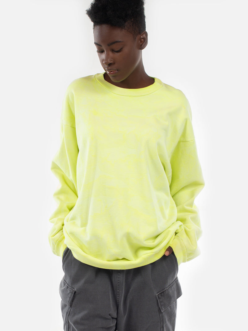 Yameyo Pullover / Yellow Lava, Women's, Clothing, Apparel - Drifter Industries