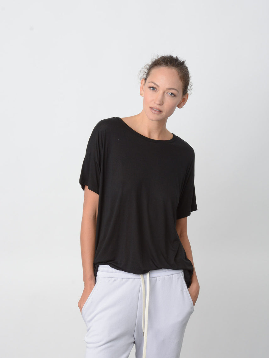 Cavil Relaxed Fit Tee / Black, Women's, Clothing, Apparel - Drifter Industries