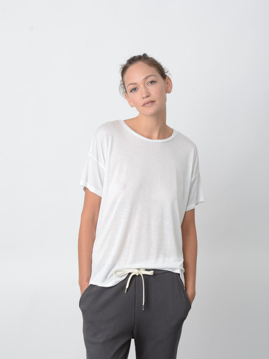 Cavil Relaxed Fit Tee / Ivory