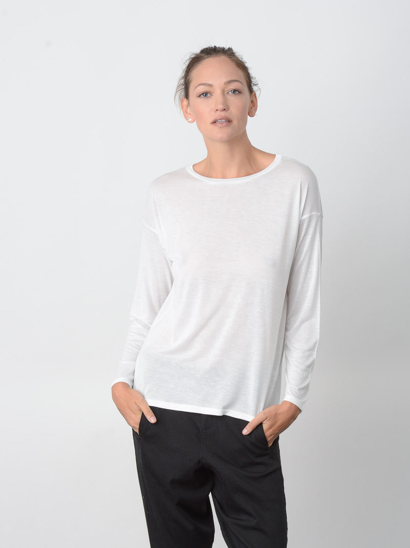 Zaran Drop Shoulder Tee, Women's, Clothing, Apparel - Drifter Industries