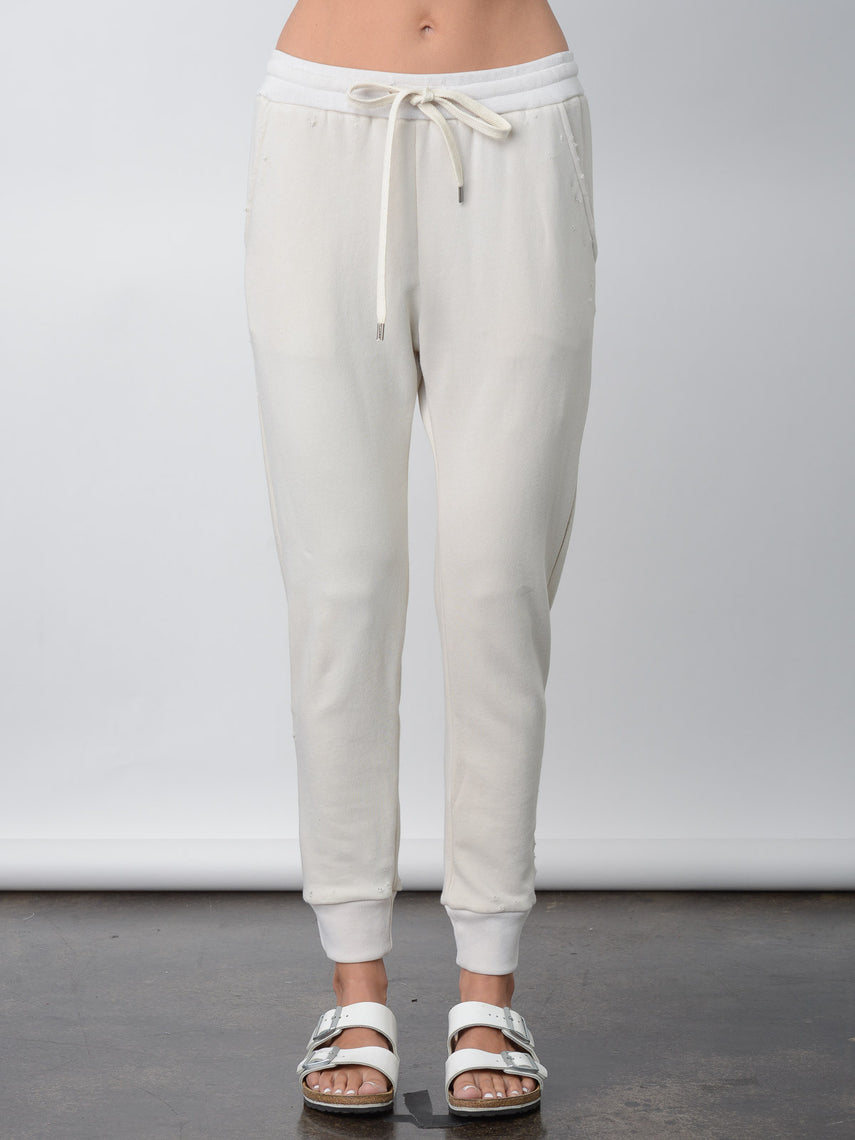 Nicoletta Sweatpant / Vintage White, Women's, Clothing, Apparel - Drifter Industries