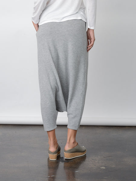 Aria Harem Pant / Heather Grey