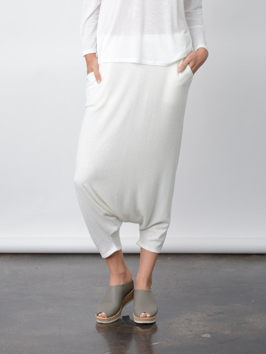 Aria Harem Pant / Ivory, Women's, Clothing, Apparel - Drifter Industries