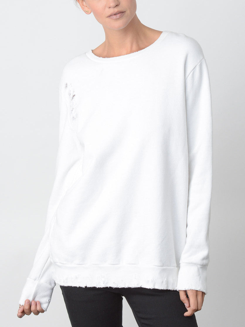 Impression Sweatshirt / White, Women's, Clothing, Apparel - Drifter Industries