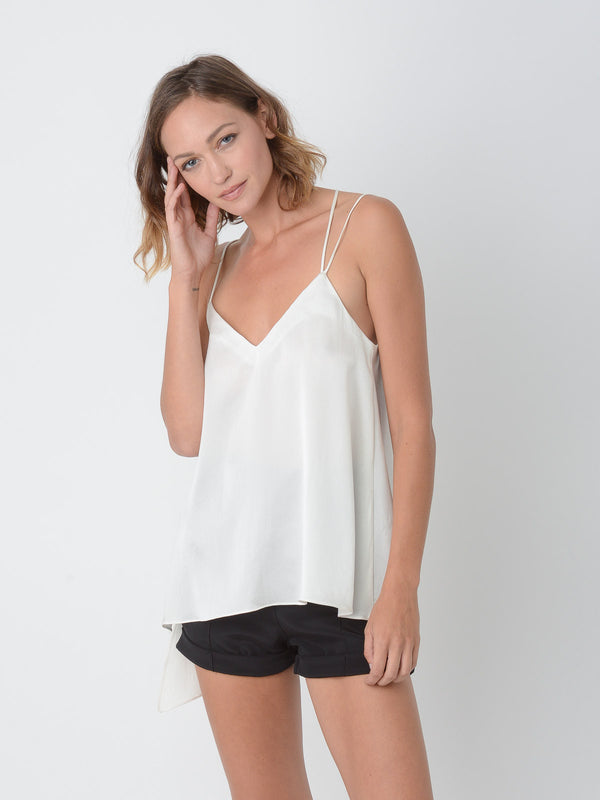 Ximena Camisole / Ivory, Women's, Clothing, Apparel - Drifter Industries
