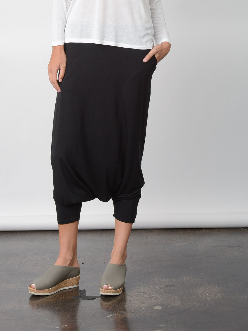 Aria Harem Pant / Black, Women's, Clothing, Apparel - Drifter Industries