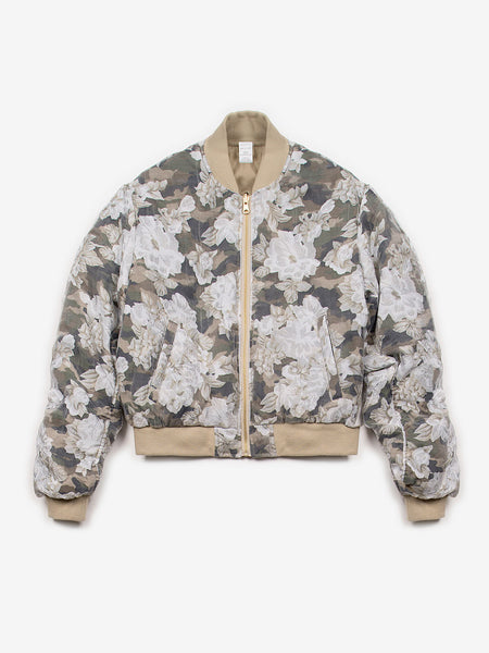 Illustrious Khaki Bomber Jacket, Women's, Clothing, Apparel - Drifter Industries