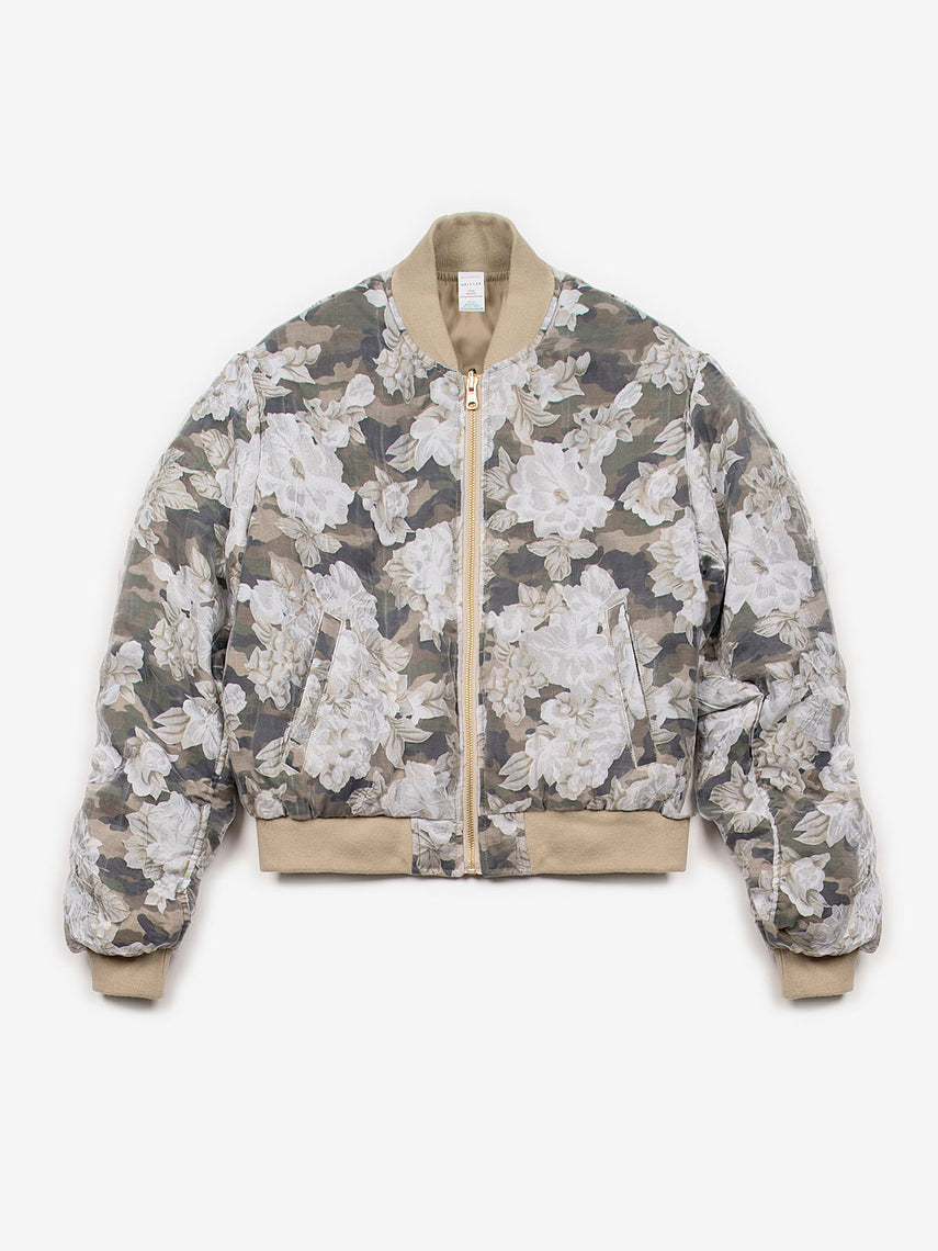 Illustrious Khaki Bomber Jacket