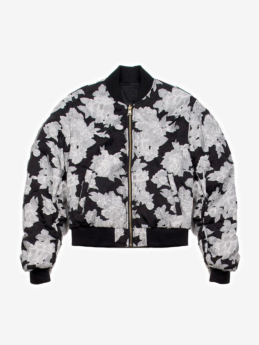 Illustrious Black Bomber Jacket