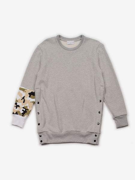 Brandi Camo Crewneck Pullover, Women's, Clothing, Apparel - Drifter Industries