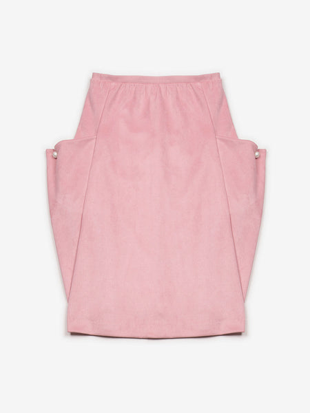 Ende Skirt / Pink, Women's, Clothing, Apparel - Drifter Industries