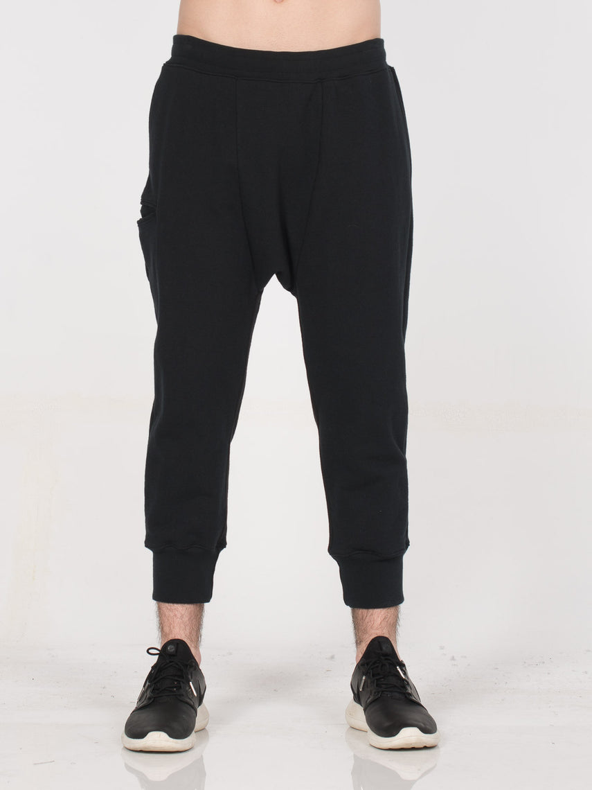 Sanctum Drop Crotch Pant/ Black, Men's, Clothing, Apparel - Drifter Industries