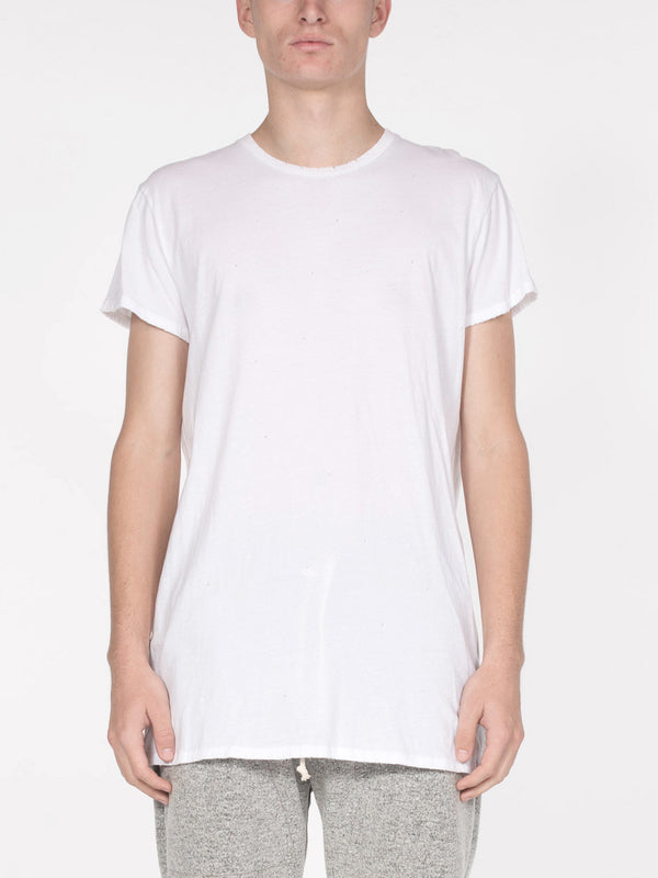 George Tee / White, Men's, Clothing, Apparel - Drifter Industries