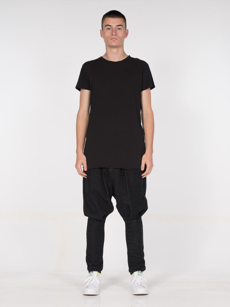 George Tee / Black, Men's, Clothing, Apparel - Drifter Industries