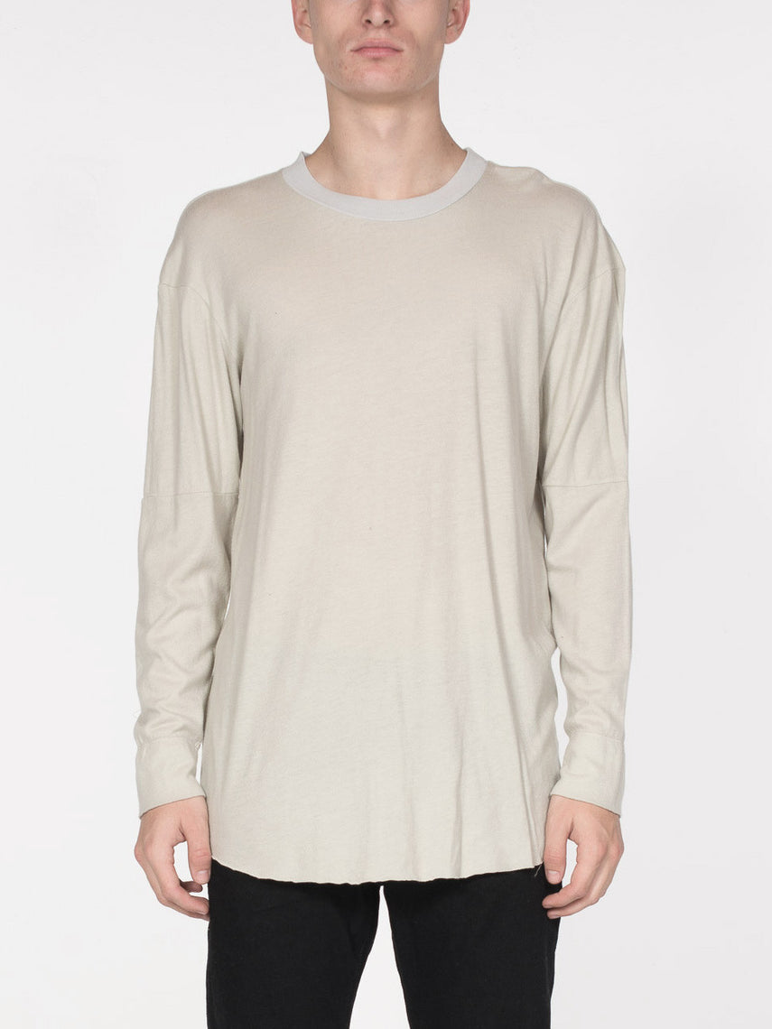 Meyer Long Sleeve Tee / Overcast, Men's, Clothing, Apparel - Drifter Industries