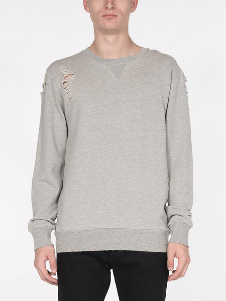 Brendan Pullover / Heather Grey, Men's, Clothing, Apparel - Drifter Industries