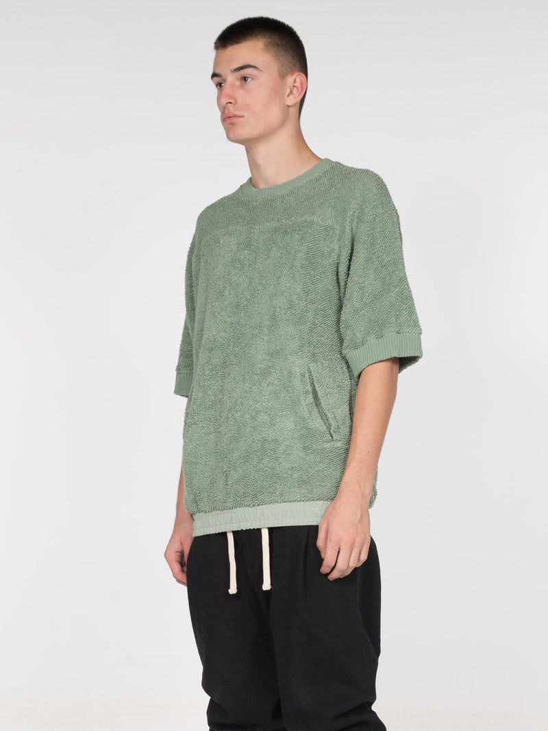 Fable Relaxed Fit Pullover / Icerberg, Men's, Clothing, Apparel - Drifter Industries
