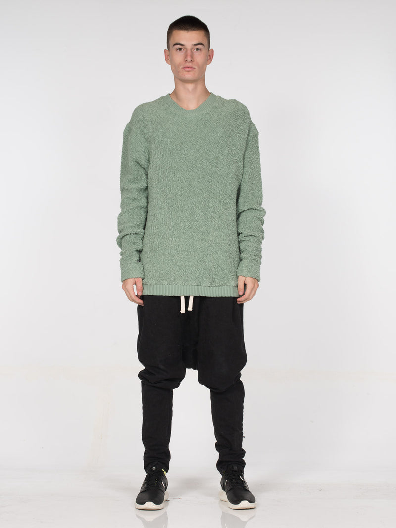 Germain Relaxed Fit Pullover / Overcast, Men's, Clothing, Apparel - Drifter Industries