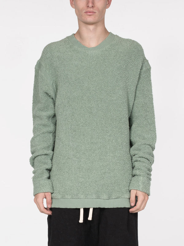 Germain Relaxed Fit Pullover / Iceberg, Men's, Clothing, Apparel - Drifter Industries