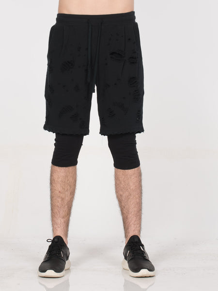 Destructor Shorts / Black, Men's, Clothing, Apparel - Drifter Industries