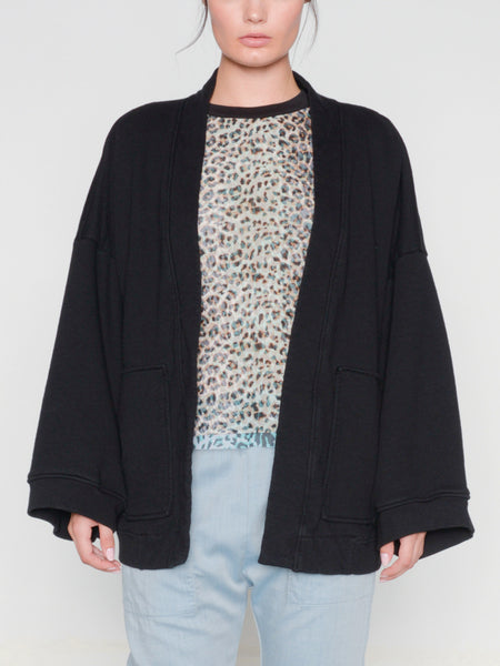 Panar Kimono Cardigan / Black, Women's, Clothing, Apparel - Drifter Industries