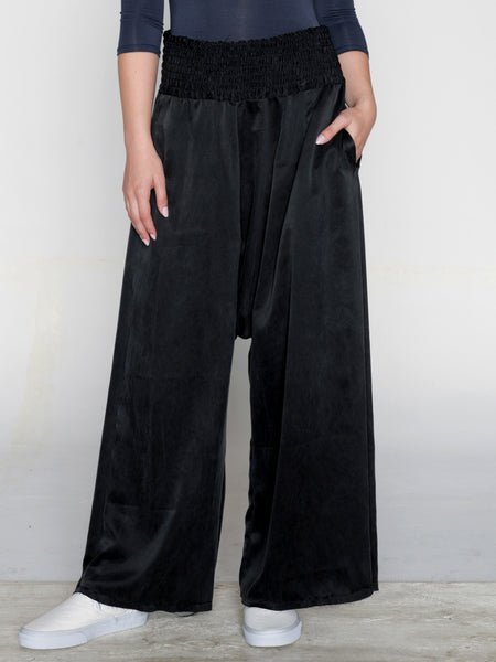 Giza Trouser / Washed Black, Women's, Clothing, Apparel - Drifter Industries