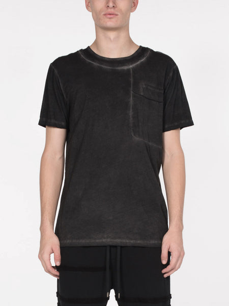 Bernard Black Wash Tee, Men's, Clothing, Apparel - Drifter Industries