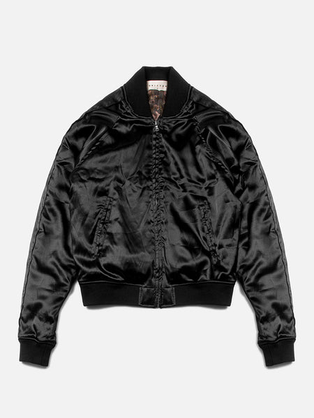 Grizabella Bomber Jacket / Black